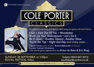Cole Porter Classics guests: Anton & Erin