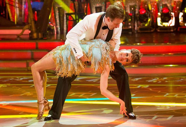 Anton Du Beke and Katie Derham - week 1 Jive
