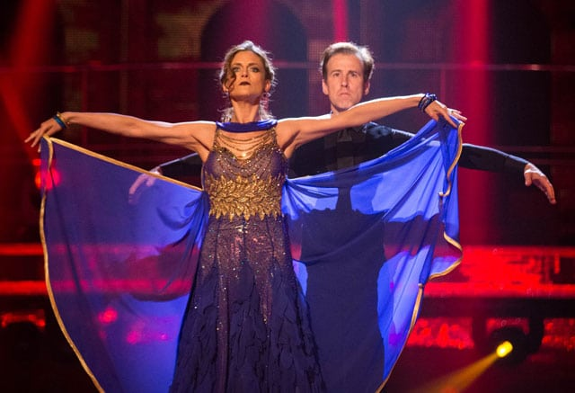 Anton & Katie in the Final of Strictly Come Dancing 2015