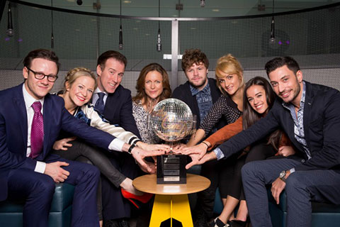 The Strictly 2015 Grand Finalists