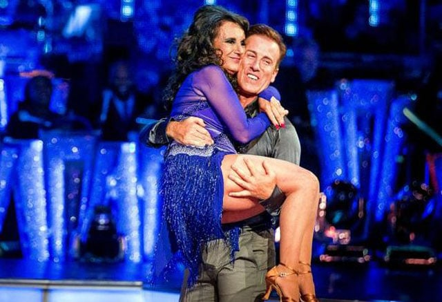 Anton Du Beke & Lesley Joseph, Strictly Week 1 Waltz