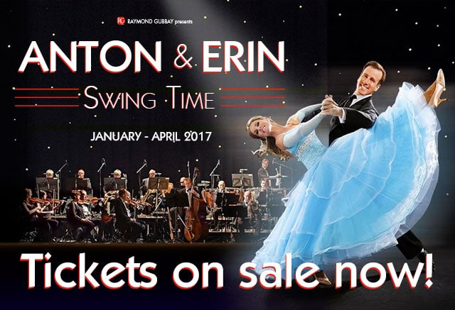 Swing Time – our 2017 Tour!