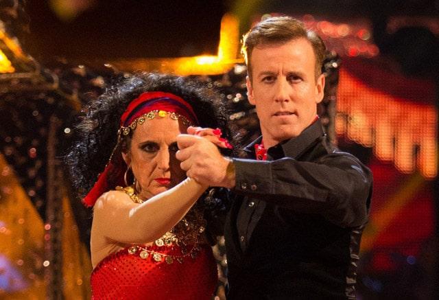 Anton & Lesley dance the Tango