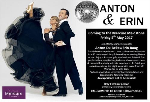 Anton & Erin at the Mercure Maidstone