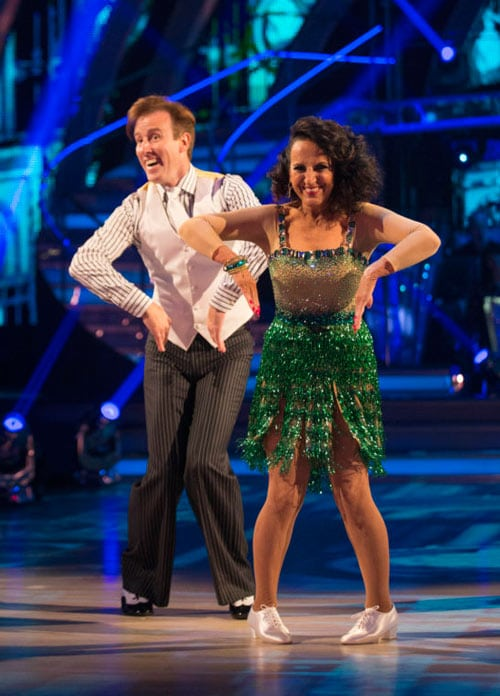 Anton Du Beke & Lesley Joseph dance the Charleston