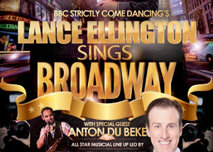 Special Guest - at Lance Ellington Sings Broadway