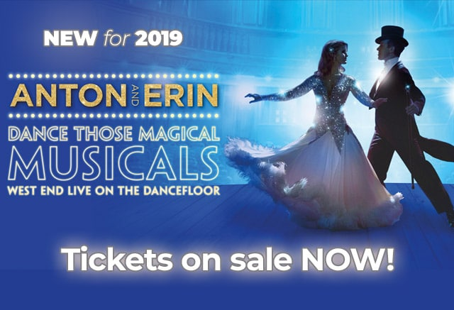 'Dance Those Magical Musicals' – our 2019 Tour!