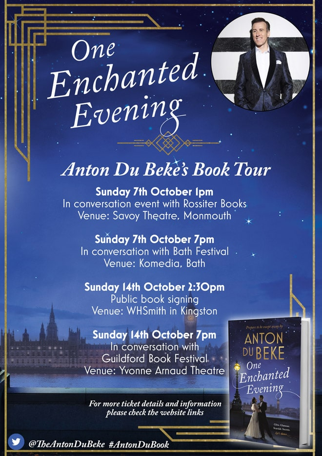 Anton Du Beke's Book Tour