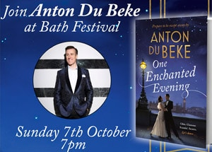 Anton's Book Tour - Bath Festival