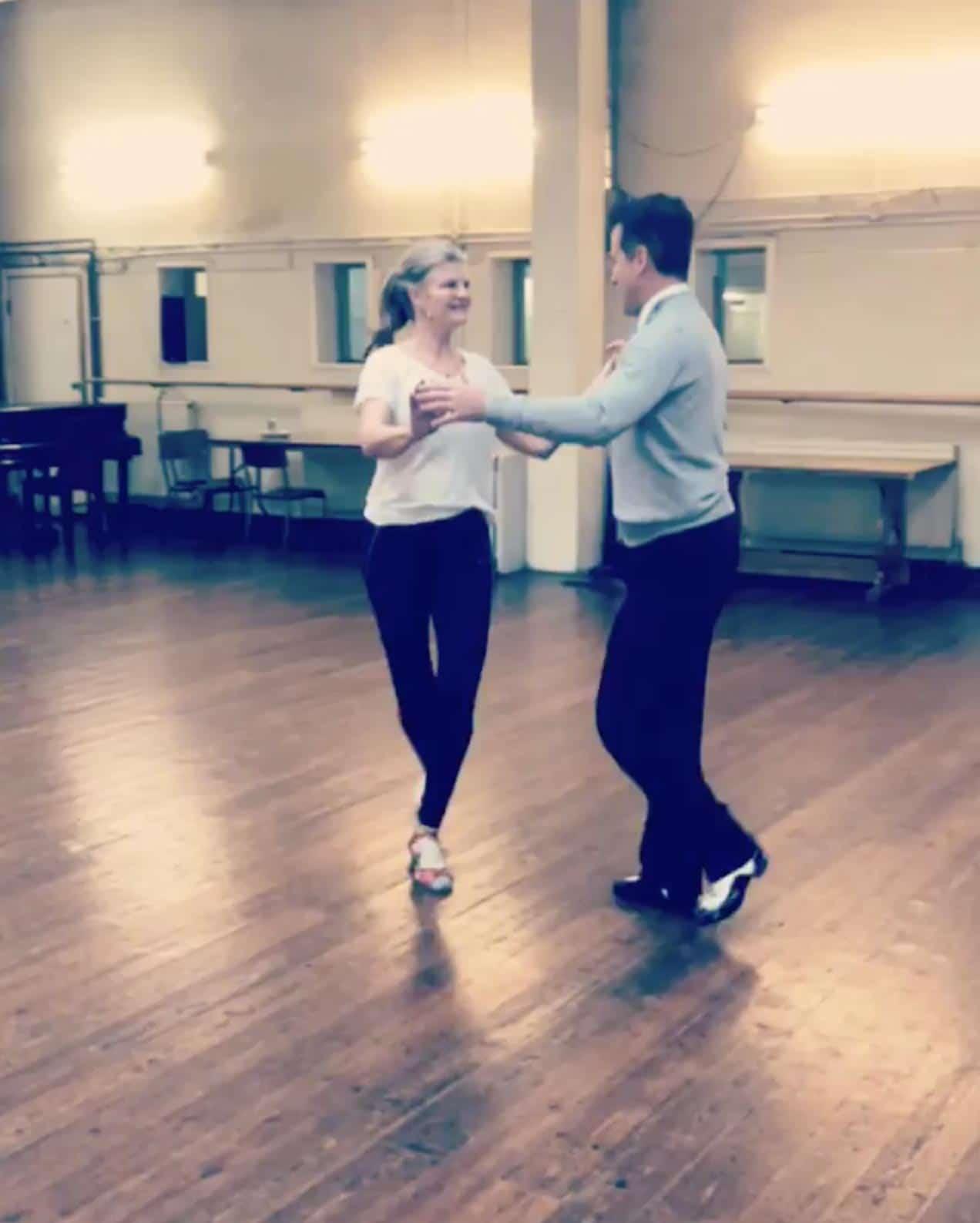 Anton Susannah dance video 1