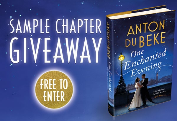 Win a free sample chapter from Anton's new book