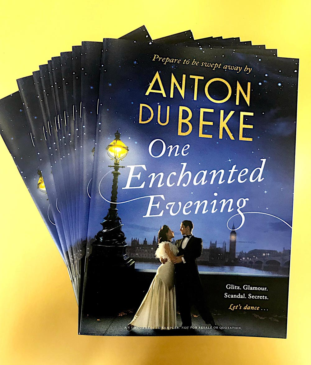 Win a sample chapter from Anton Du Beke's new novel