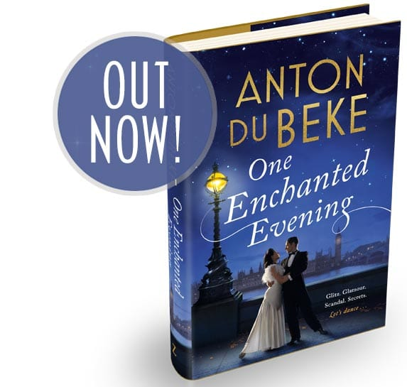 Anton's debut novel is OUT NOW!