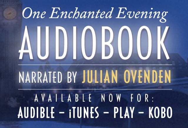 The Audiobook for One Enchanted Evening is now available!