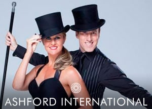 Dance & Dine with Anton & Erin at the Ashford International Hotel