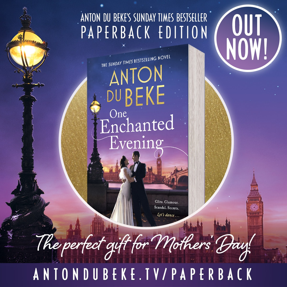 One Enchanted Evening - out now in paperback!