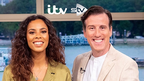 Anton Du Beke presents This Morning with Rochelle Humes