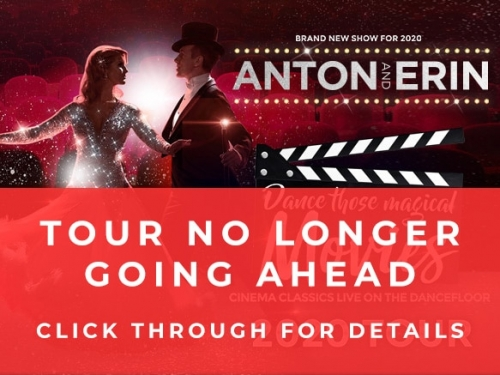 Anton and Erin - COVID-19 Tour dates cancelled