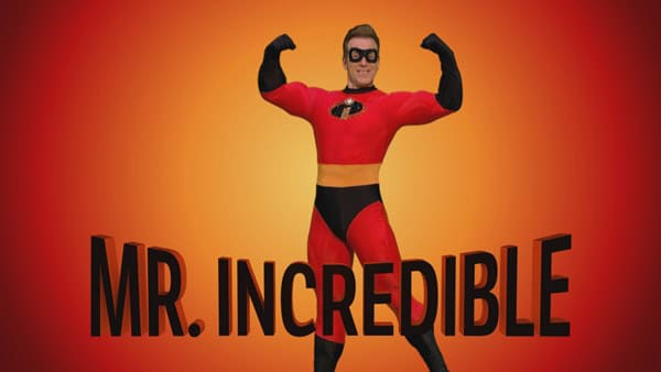 Anton Du Beke is Mr Incredible