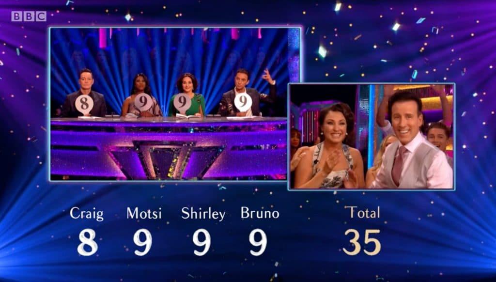 Anton & Emma score 35