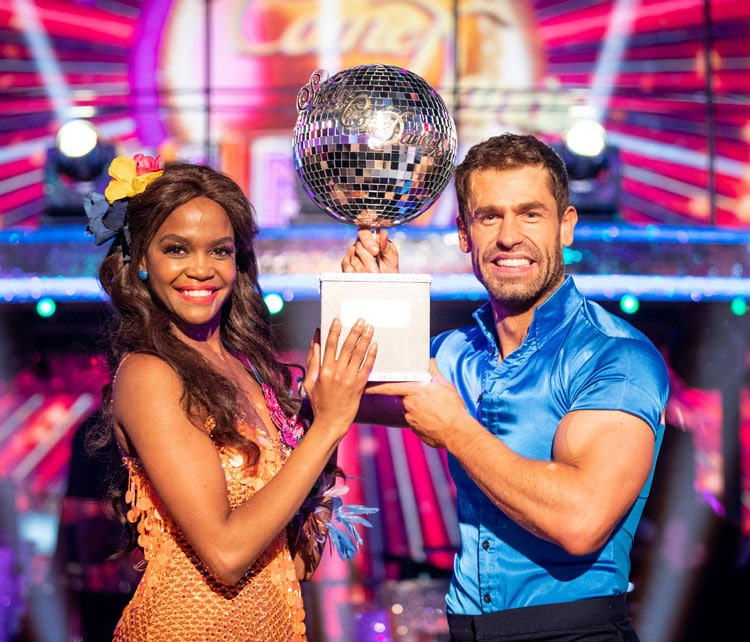 2019 Strictly Winners - Kelvin & Oti