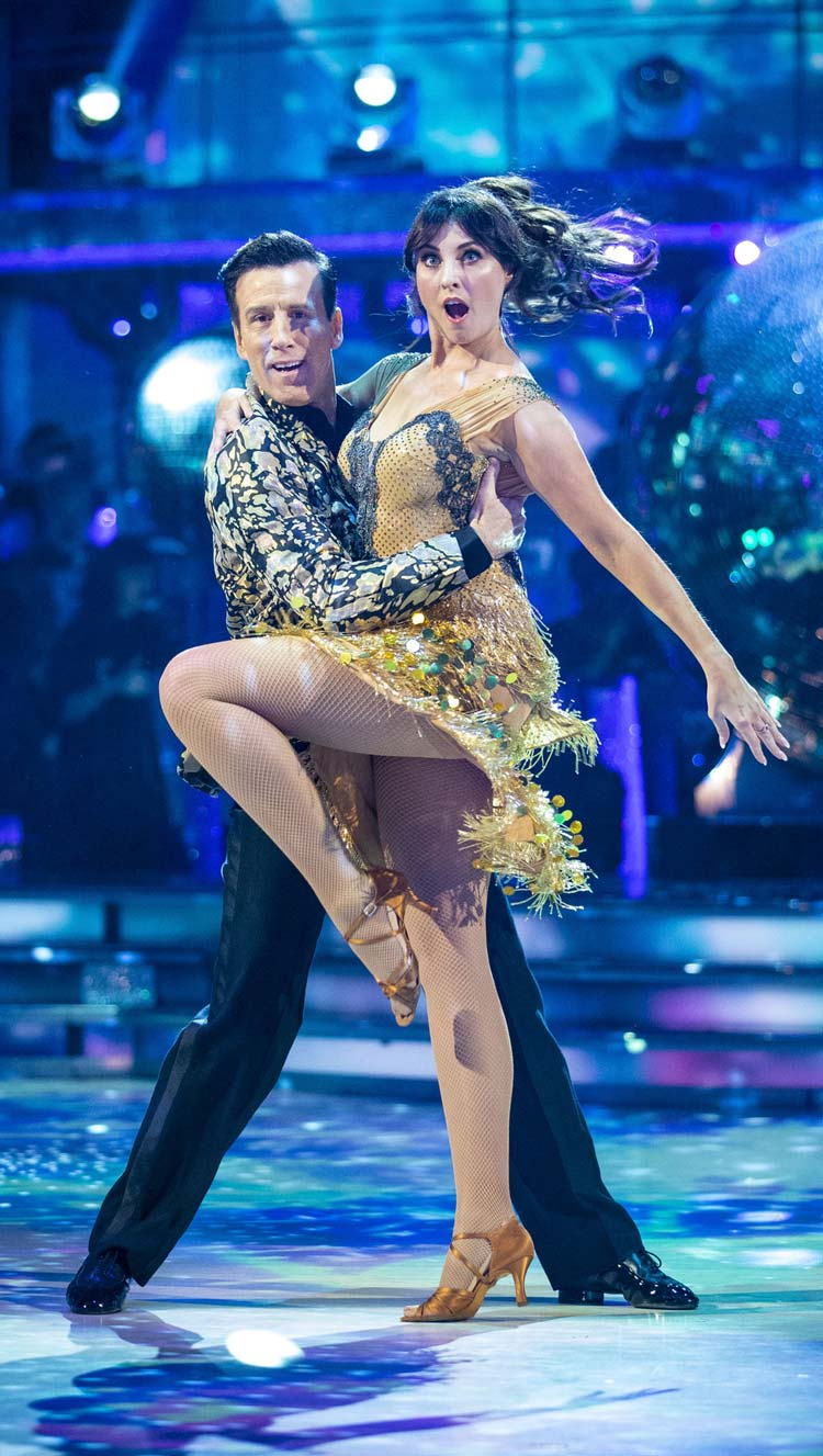 Anton and Emma - semi final Cha Cha Cha