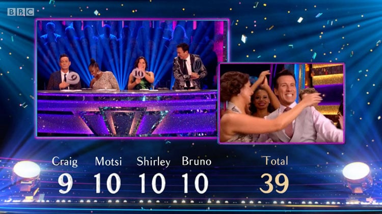 Anton and Emma's Final Viennese Waltz Score