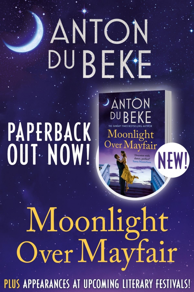 Out Now! The Paperback Edition of 'Moonlight Over Mayfair'