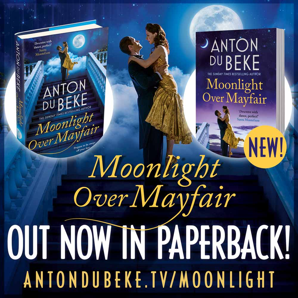 Moonlight Over Mayfair - now available in paperback too