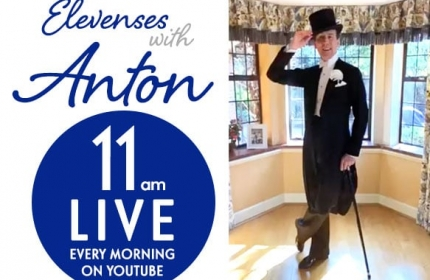 Elevenses with Anton – Daily Dance Lessons Live on YouTube