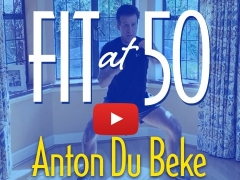 Fit at 50 – Exercise with Anton on YouTube – live at 3pm each day!