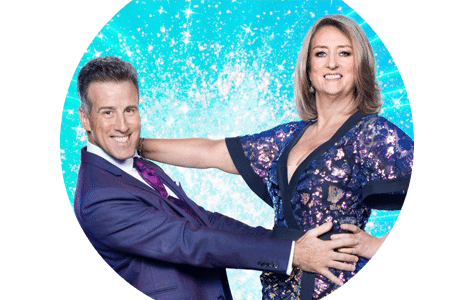 Anton and Jacqui Smith - Strictly 2020