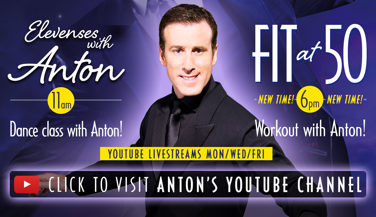 Live classes with Anton on YouTube