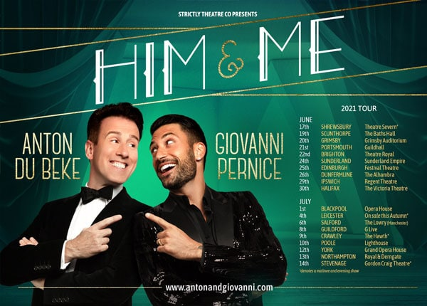 Him & Me - Anton on tour with Giovanni Pernice