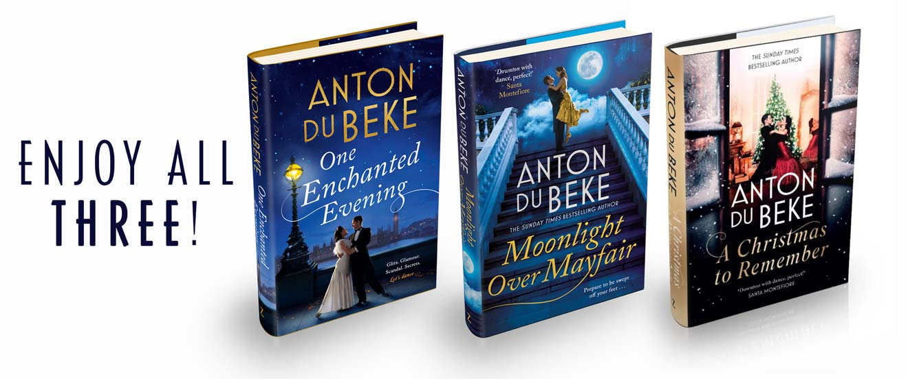 Anton Du Beke's three novels
