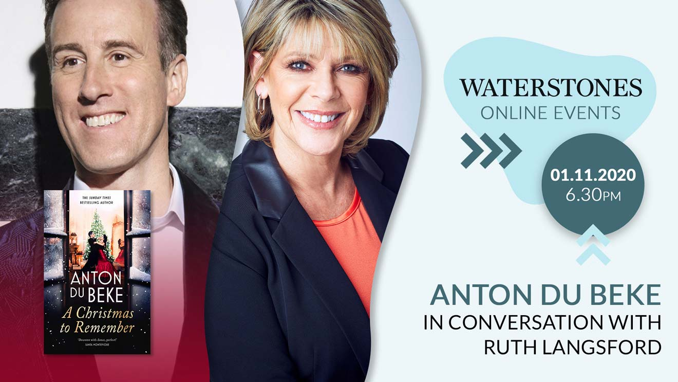 Anton in conversation with Ruth Langsford