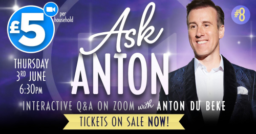 Ask Anton on zoom!