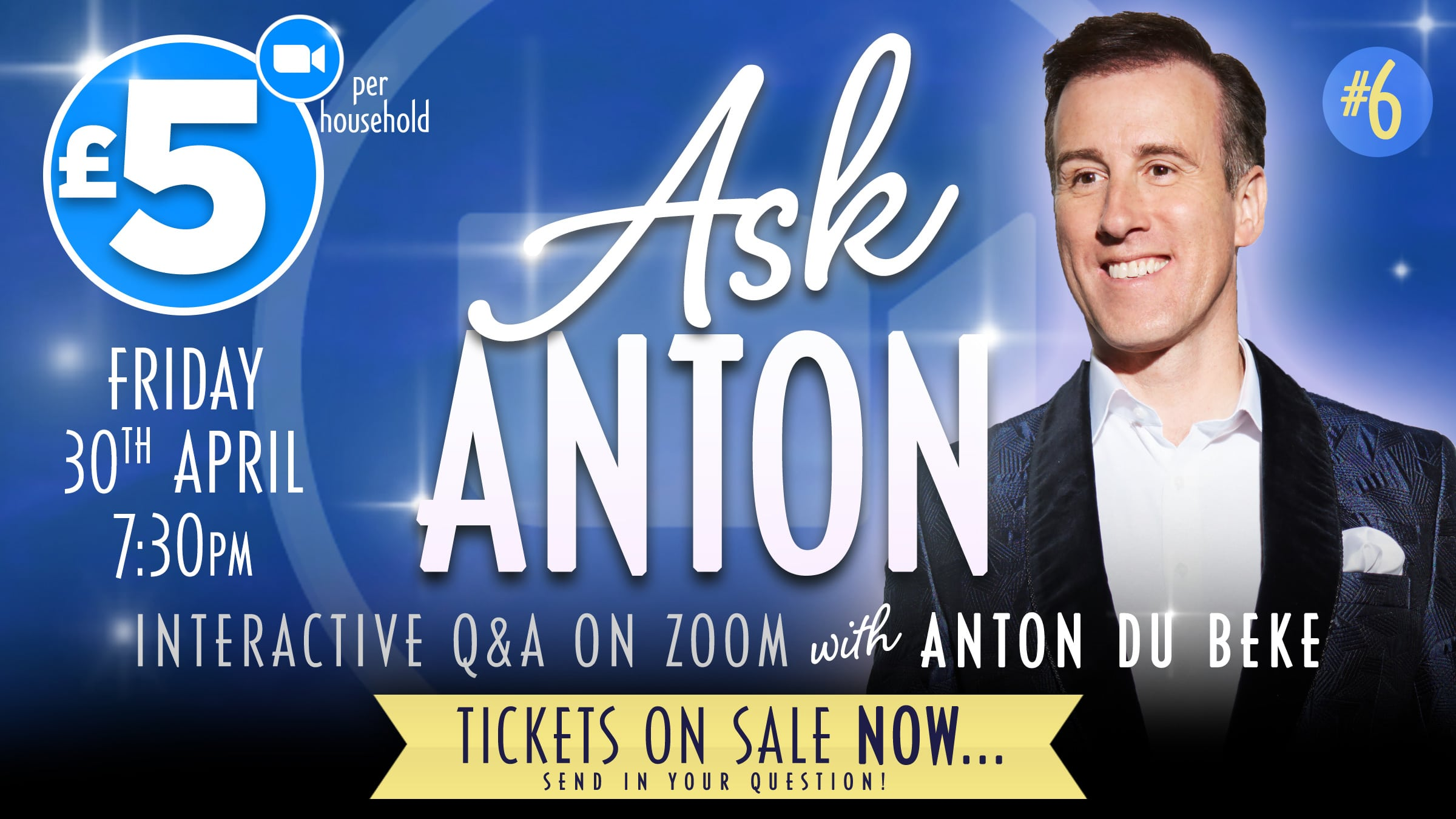 AskAnton - interactive Q&A on Zoom