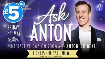 AskAnton - interactive Q&A on Zoom