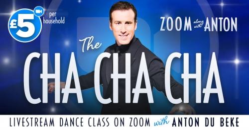 Cha Cha Cha class with Anton on Zoom