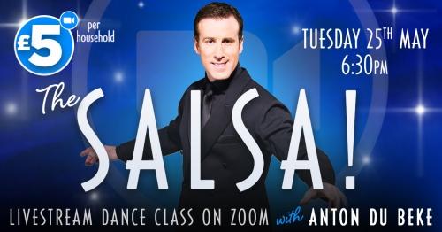 Salsa with Anton Du Beke on Zoom
