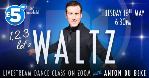 Waltz with Anton on Zoom