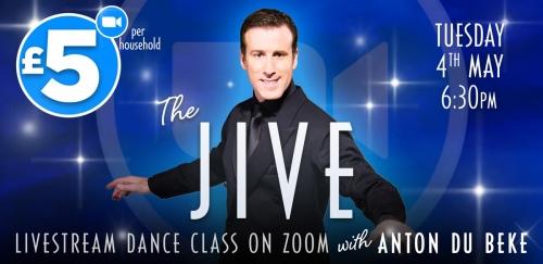 Jive class with Anton on Zoom