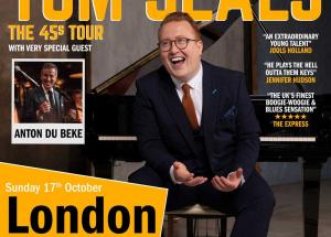 Anton Du Beke with Tom Seals live in London