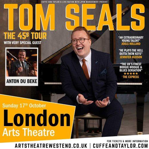 Anton Du Beke with Tom Seals