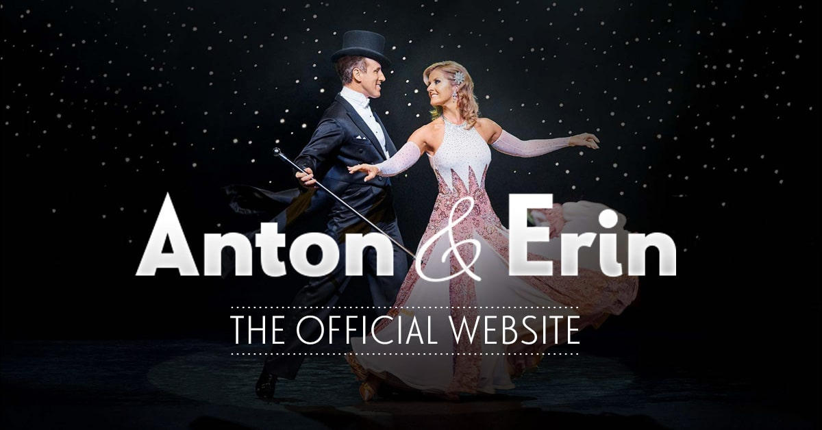 Anton & Erin - the new official website