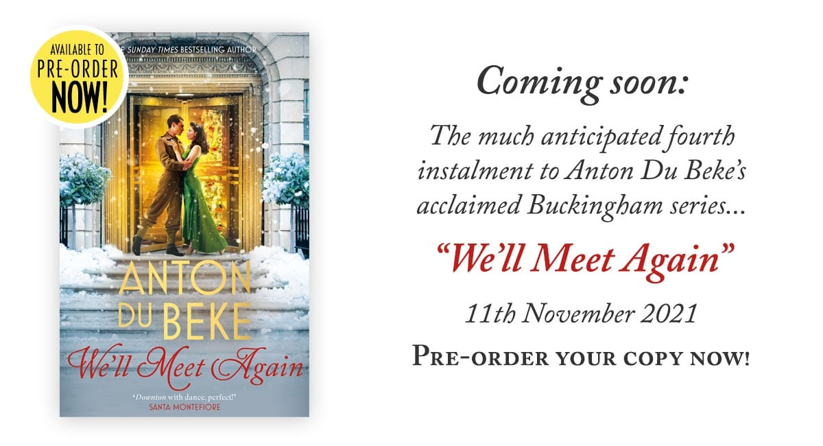 Preorder your copy of We'll Meet Again - out on 11th November